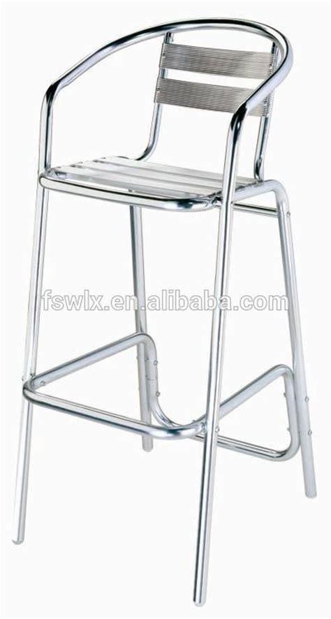 tabouret de bar alu brosse aluminium chaise tabouret de bar et table outils de jardin id de produit 60213773622
