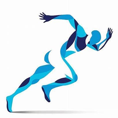 Athletes Clip Athlete Clipart Athletics Vector Wis