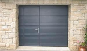 Porte De Garage Avec Portillon : la porte de garage avec portillon est elle vraiment ~ Melissatoandfro.com Idées de Décoration
