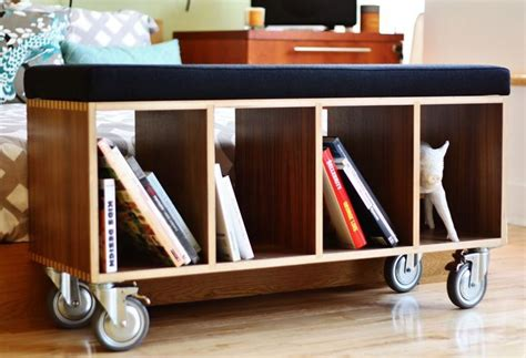 Small Bookcase On Wheels by I Want To Try To Make This A Small Bookshelf On Wheels