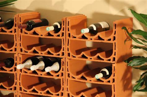 Weinlagersteine Aus Gebranntem Ton