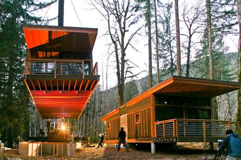 method homes drops a new prefab home in glacier washington inhabitat green design