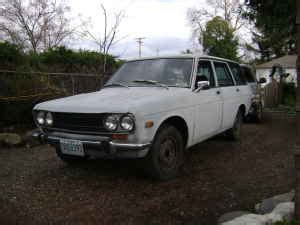 Electric Datsun by Doncristobal And His Electric 1971 Datsun 510 Stationwagon