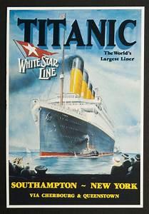 White, Star, Line, Titanic, Boarding, Pass, Postcards, 6