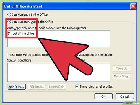 absence bureau outlook 4 ères de utiliser le gestionnaire d 39 absence du bureau