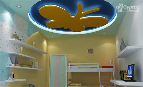 false ceiling designs  kids room saint gobain gyproc india