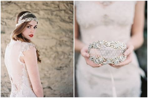 Wedding Accessories For Bride : Enchanted Atelier For Claire Pettibone & Maison Sophie