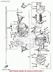 Yamaha Xv920r Virago 1981  B  Usa Carburetor