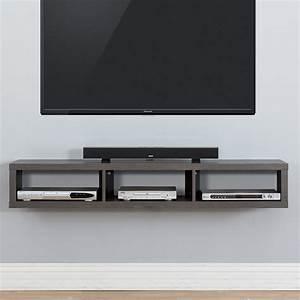 "Martin Home Furnishings 60"" Shallow Wall Mounted TV ..."