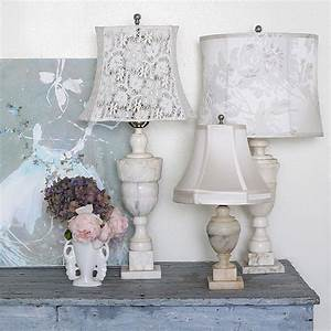 Shabby Chic Lampen : 38 shabby chic home accents to revamp your home ~ Orissabook.com Haus und Dekorationen