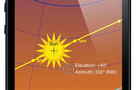 sun seeker app  users site orientation insight