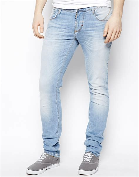 light jeans mens light wash skinny jeans mens bod jeans