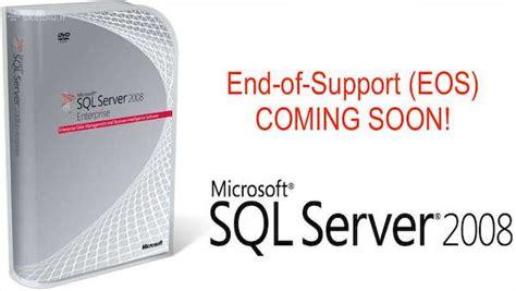 Microsoft Sql Server 2008 End-of