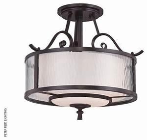 Adonis lamp semi flush ceiling traditional