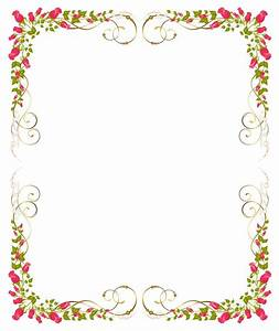 flower background frame 09 vector eps free download logo With wedding invitation border design vector free download