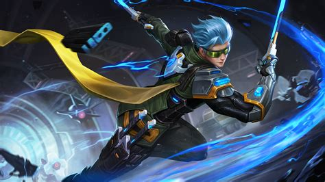 Mobile Legends Gusion Cyber Ops Wallpapers