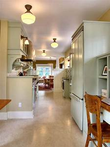 37, Examples, Of, Galley, Kitchen, Lighting, That, Looks, Very, Impressive