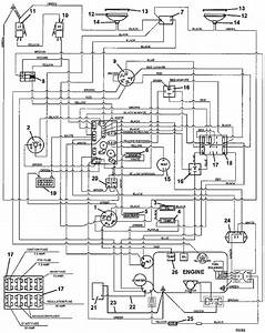 Wiring Diagram Lawn Mower Ignition Switch