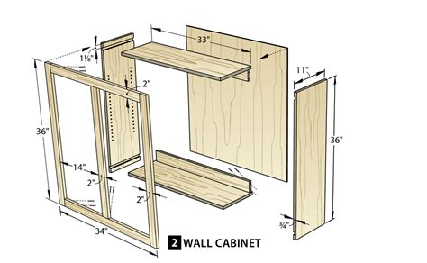 how to build kitchen wall cabinets make cabinets the easy way wood magazine 8518