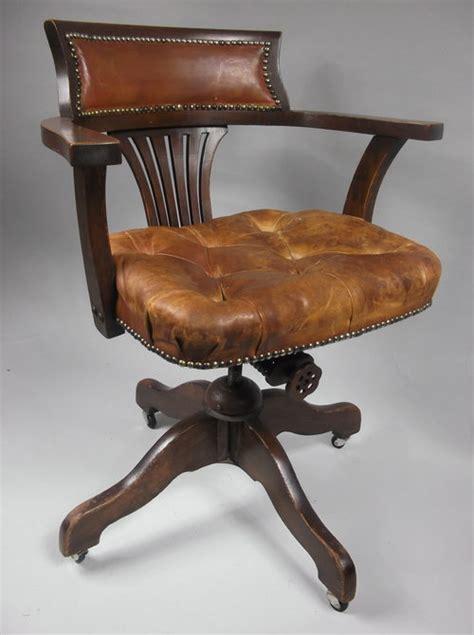 tilt swivel desk or office chair c 1910 antiques atlas