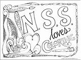 Coloring Zenspirations Directory Joanne Fink Nss Remembering Connections Heart Designed sketch template
