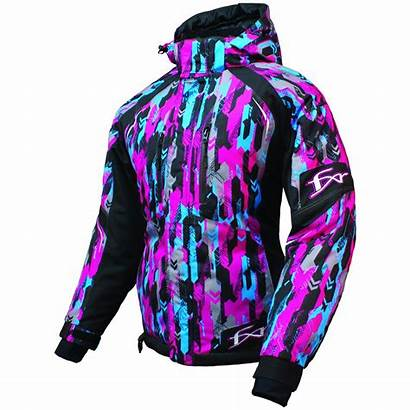 Fxr Jacket Fresh Snowmobile Womens Clothing Camo