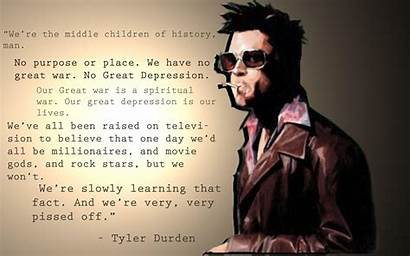 Fight Club Tyler Durden Wallpapers Quotes