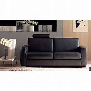 Canapé Cuir Design : cortina canap cuir 2 places canap cuir luxesofa ~ Voncanada.com Idées de Décoration