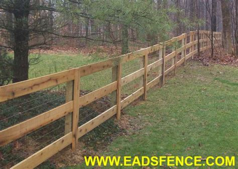 Eads Fence Co.. 3 Rail Board Fence