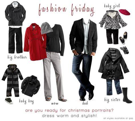 fall or holiday photo family outfits nice shot family