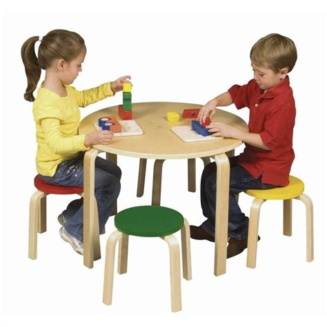 guidecraft nordic table and chairs color g81046