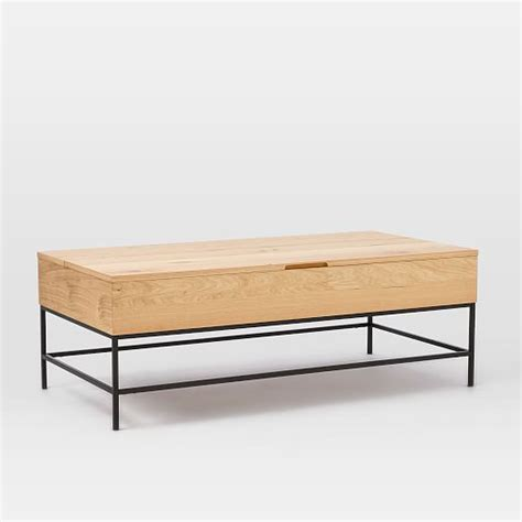next steps table with storage and 4 chairs set espresso industrial storage coffee table west elm