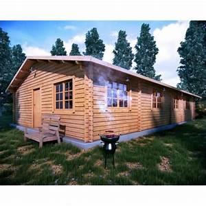 Chalet En Bois Habitable Livré Monté : chalet en bois habitable 100m2 achat vente abri ~ Dailycaller-alerts.com Idées de Décoration