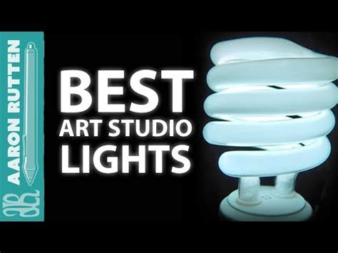 Best Light Bulbs For Art Studio Lighting  Youtube