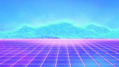 vaporwave grid wallpapers hd desktop  mobile backgrounds