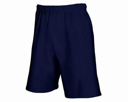 Fruit Loom Shorts Lightweight Mens Navy Mammothworkwear