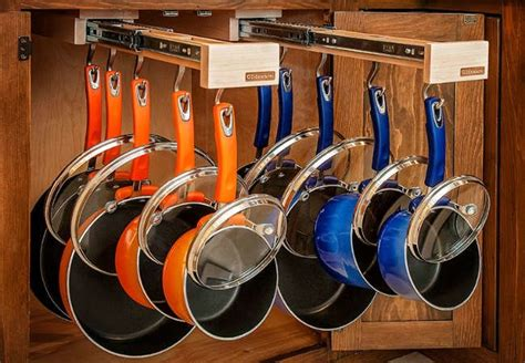 Kitchen Storage Ideas For Pots & Pans