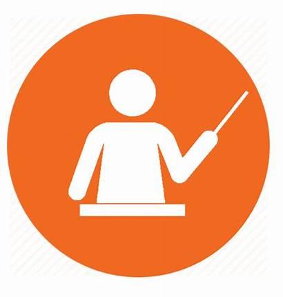 Icon Teaching Teachers Learn Teacher Study Teach