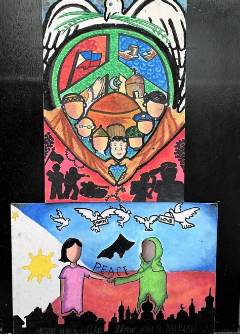 xavier university posters depict hope  marawi crisis