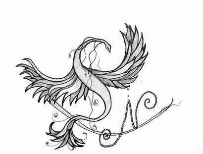 Phoenix Eternal Symbol Bird Firebird Strong Sky