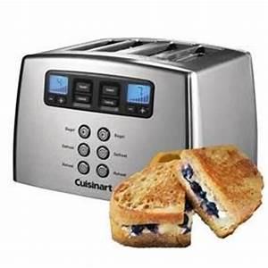 4 Schlitz Toaster : cuisinart cpt440e motorisierter 4 schlitz toaster ~ Michelbontemps.com Haus und Dekorationen