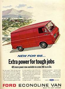 1965 Classic Ford Van Ad