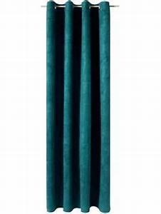 Rideaux Velours Bleu : le rideau velours doubl bleu canard pinteres ~ Teatrodelosmanantiales.com Idées de Décoration