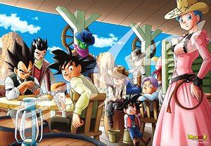 dragon ball super western style jigsaw puzzles