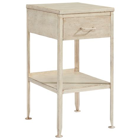 small accent table with drawer small metal end table with drawer and storage shelf by