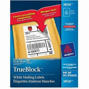 avery 8126 inkjet perforated internet shipping labels With avery 8126