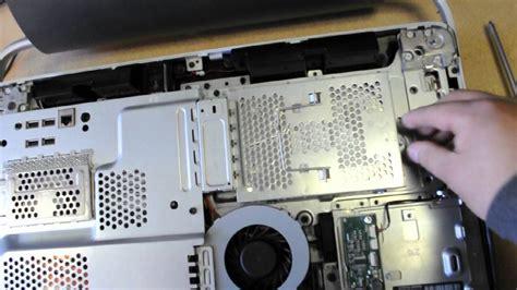 hp touch smart  desktop   remove hard drive youtube