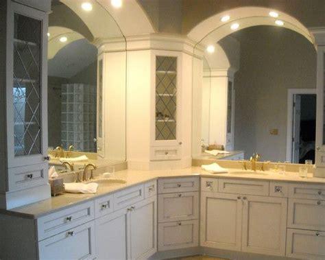 bathroom  shaped vanity design pictures remodel decor