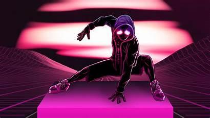 Neon Spider Wallpapers Spiderman 4k Retrowave Superheroes
