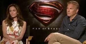 Kevin Costner and DIane Lane Interview - Man of Steel